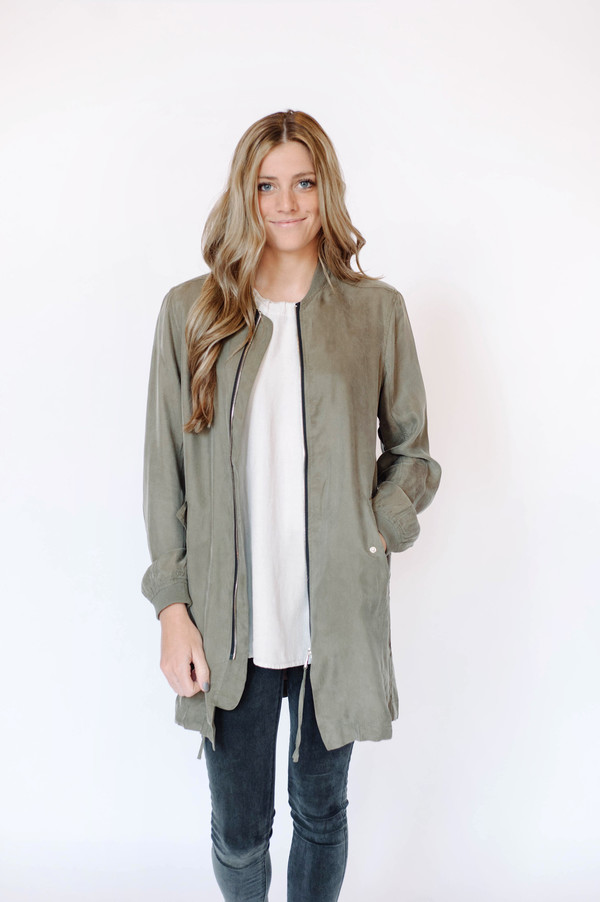 Sunday Supply Co. Olive Bomber