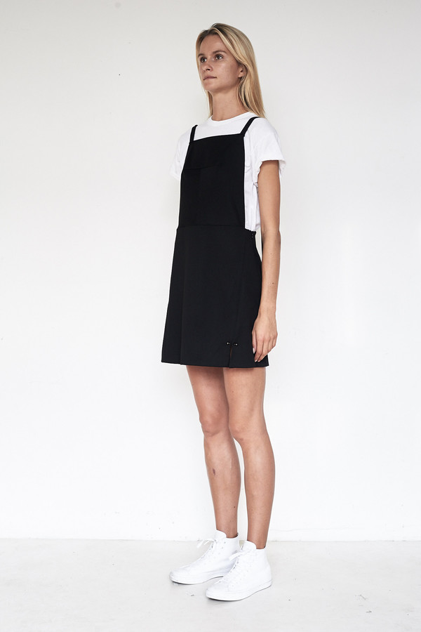 Tosia Suiting Apron Dress