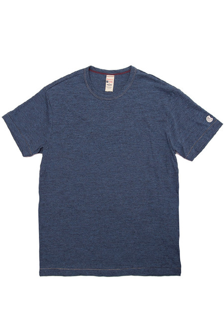 Men's Todd Snyder x Champion Classic Crew Indigo Mix