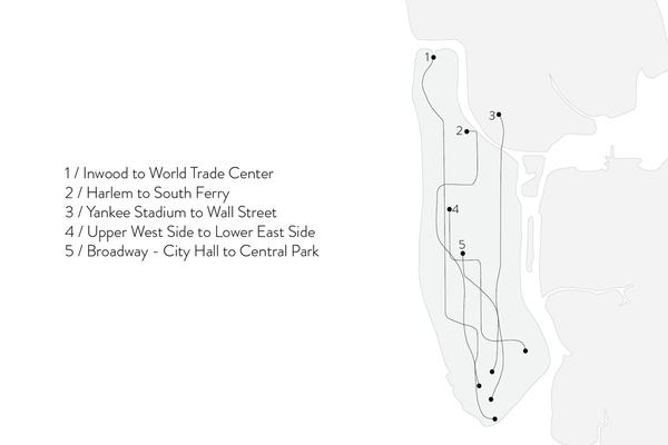 Shahla Karimi 14K Gold Subway Fine Ring - Harlem to South Ferry