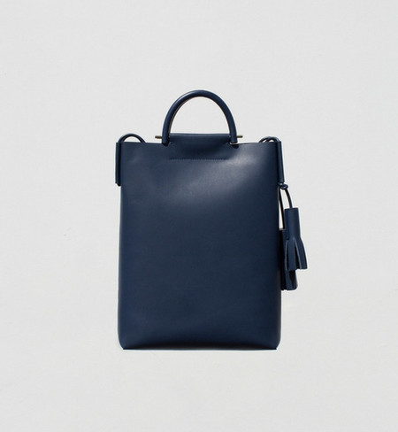 Building Block Navy Business Briefcase Bag