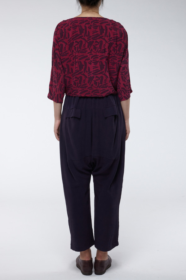 Seek Collective Jaipur Pant Solid Aubergine