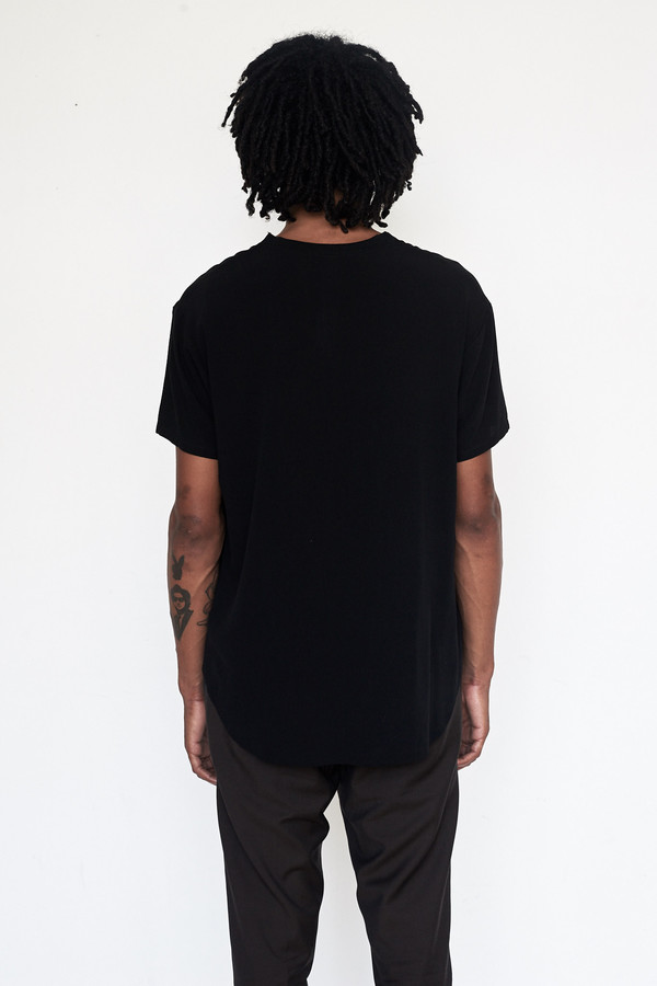 Assembly New York Crepe Woven T-Shirt