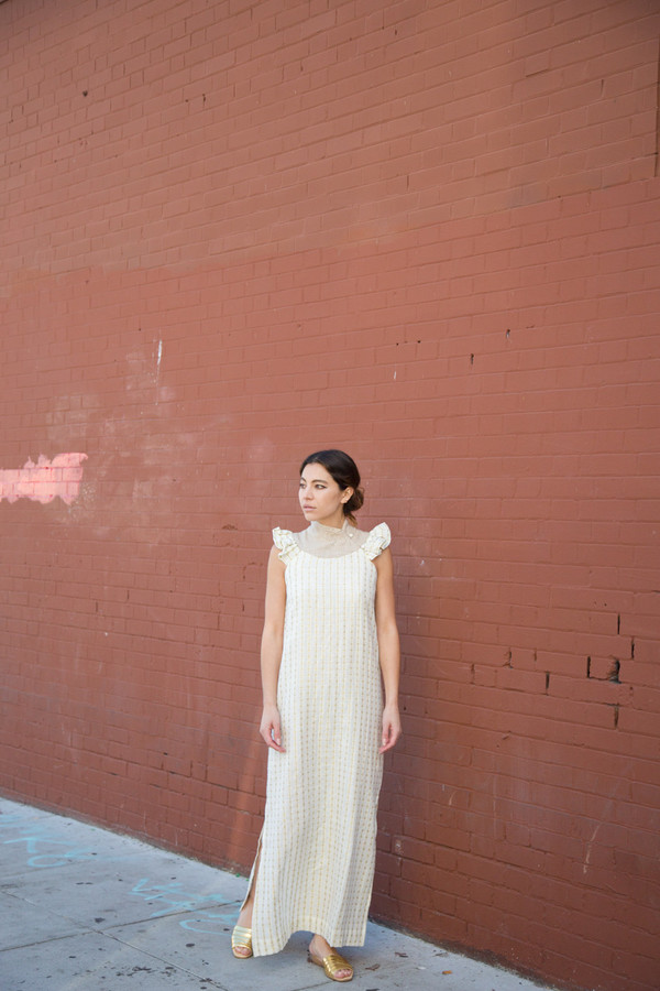 ace & jig wythe dress in afterglow