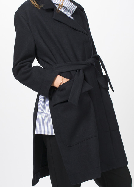 Sibel Saral Meltem Coat with Slits