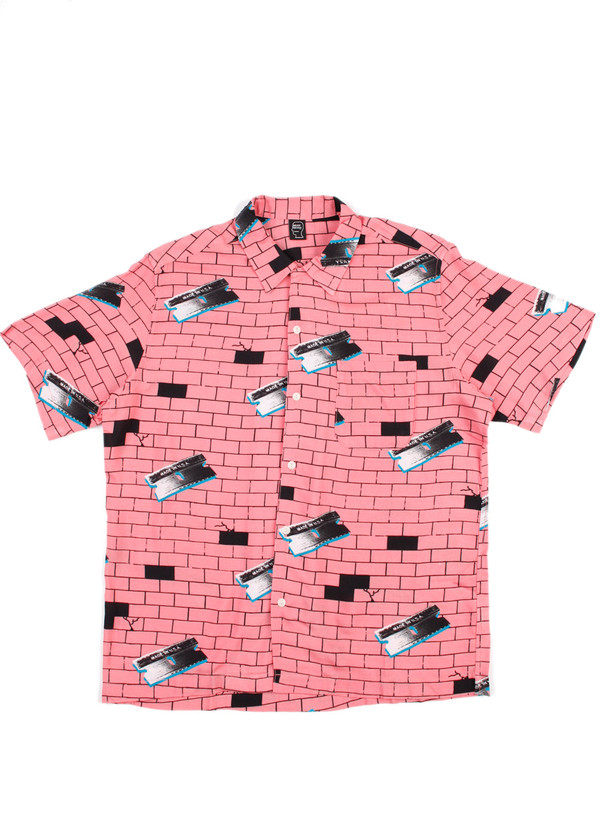 Men's Brain Dead Razorz Hawaiian Brick
