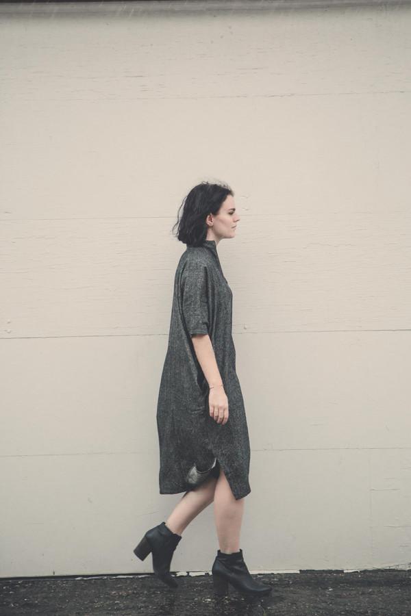 Mary Meyer Midi Source Dress in Grey