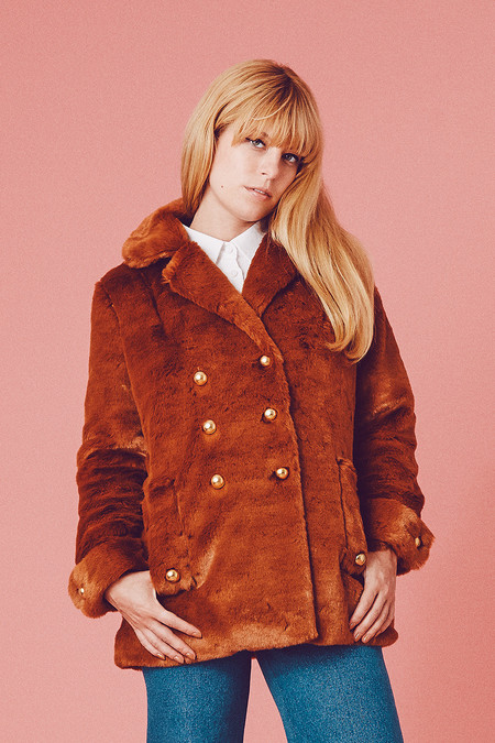 Samantha Pleet Bear Coat