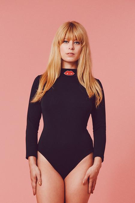 Samantha Pleet Bite Me Bodysuit - Black