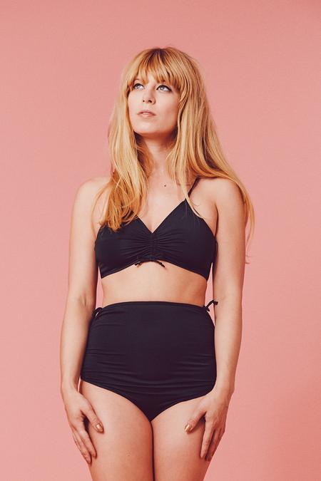 Samantha Pleet Eden Bikini - Black