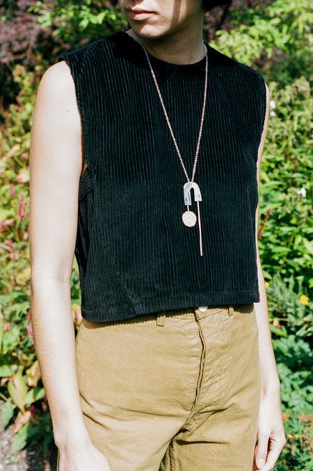Rachel Comey x Quarry Alloy Pendant