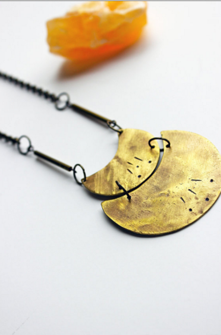 Layers of Earth Lena Necklace