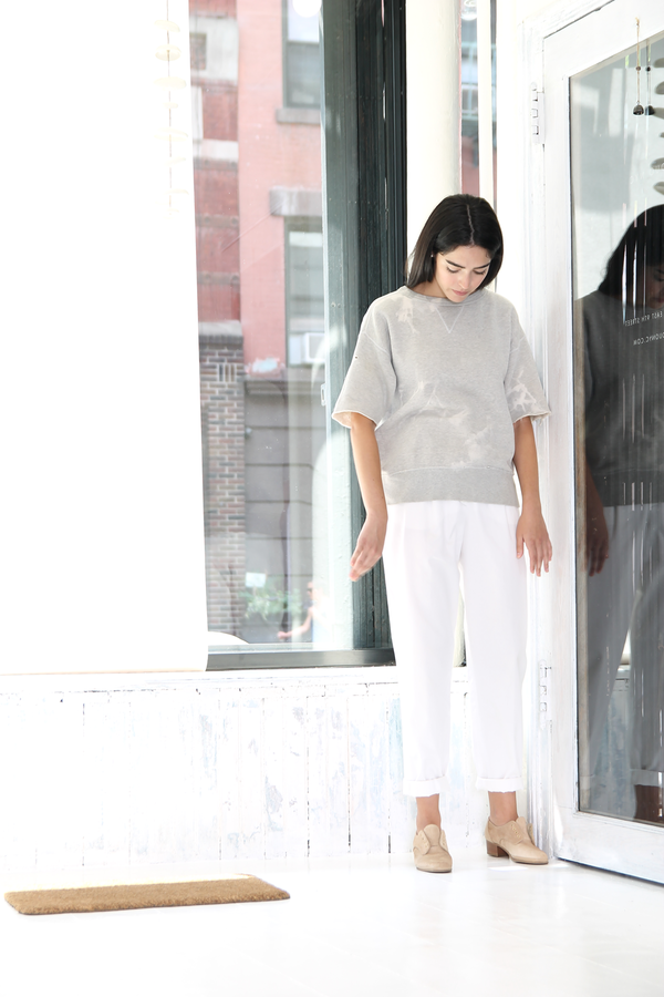 DUO NYC Vintage Escada White Trousers