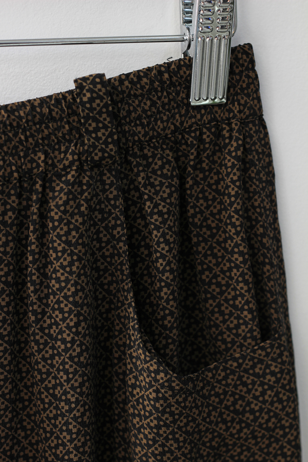 Hey Jude 70's Print Silk Trouser