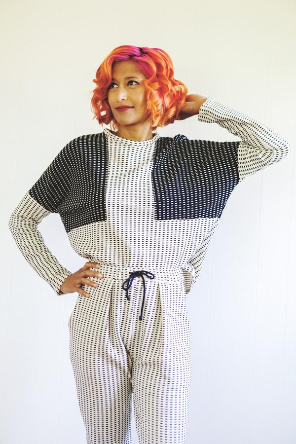 Eve Gravel Eclipse Sweater
