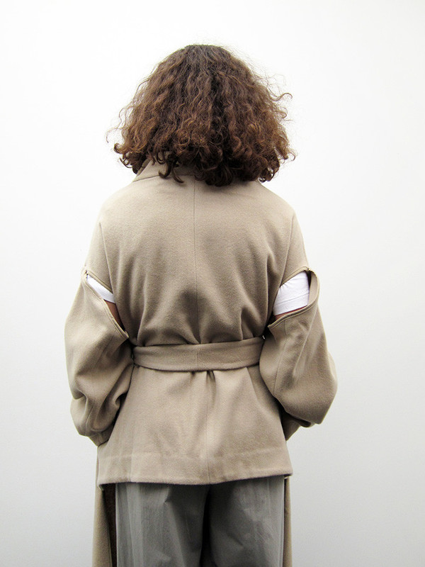 Eckhaus Latta Partial Coat