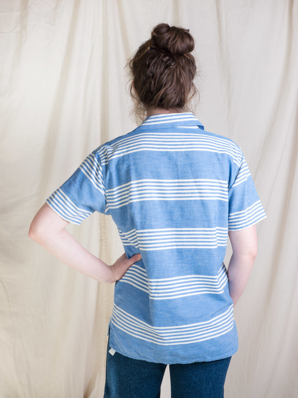 DUO NYC Vintage Striped Pullover