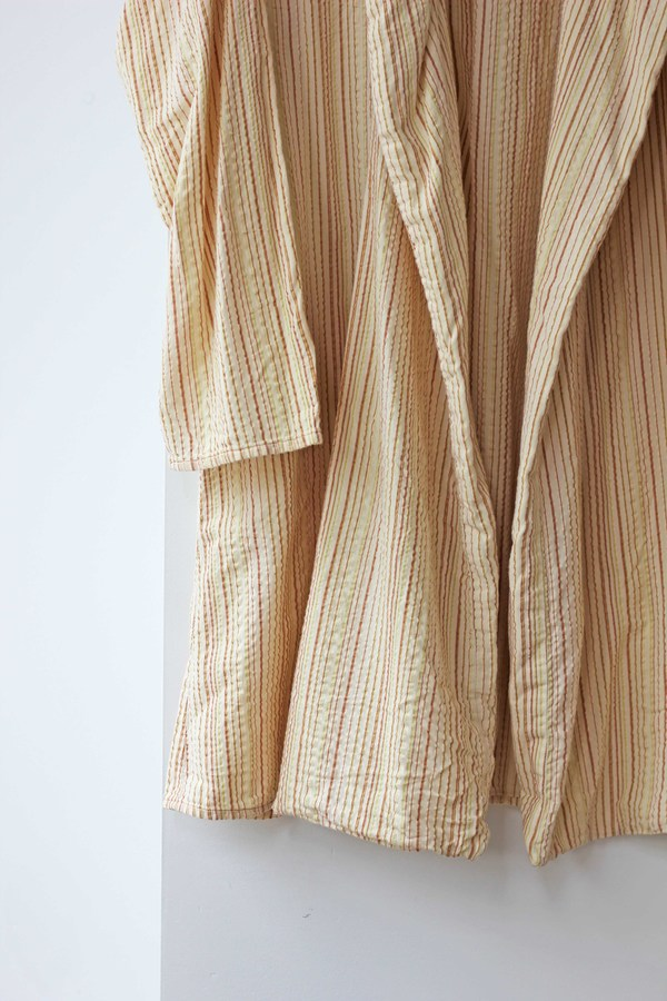 Hey Jude Vintage Texture Striped Robe