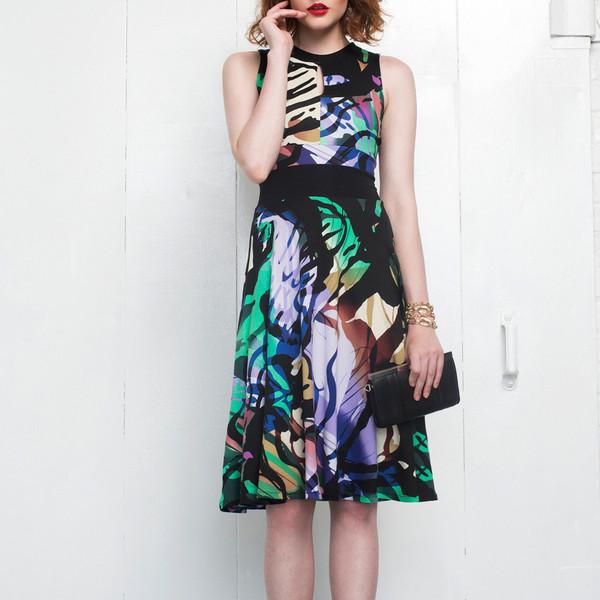 Hericher Adeline Dress Green