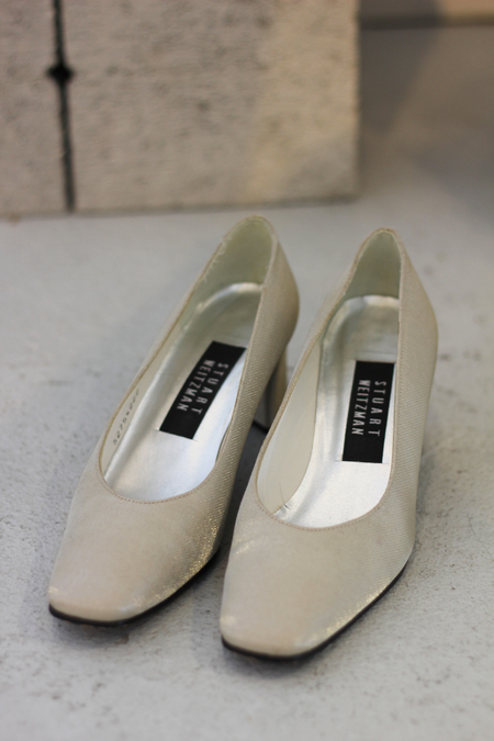 Hey Jude Vintage Metallic Pumps