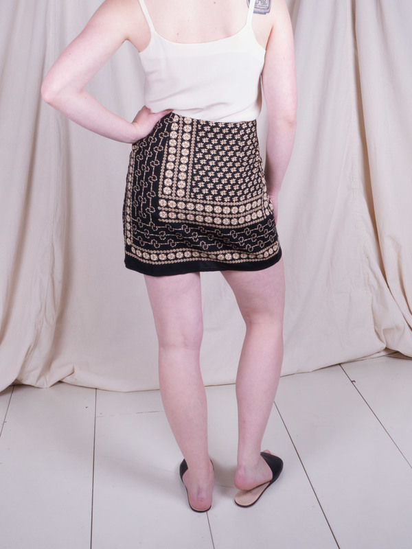 Woods Vintage Bandana Mini Skirt