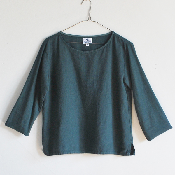 Me & Arrow Basic top - Ivy