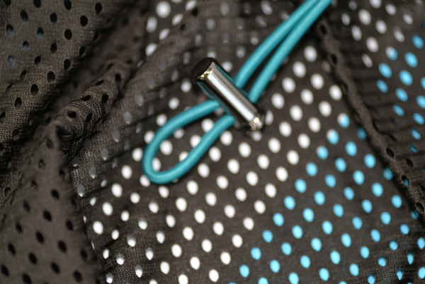 VPL Gill Jacket: Tar x Turquoise