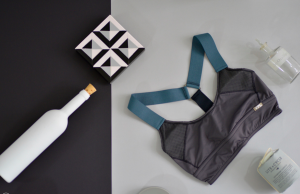 VPL Neo Gridlock Bra: All Charcoal