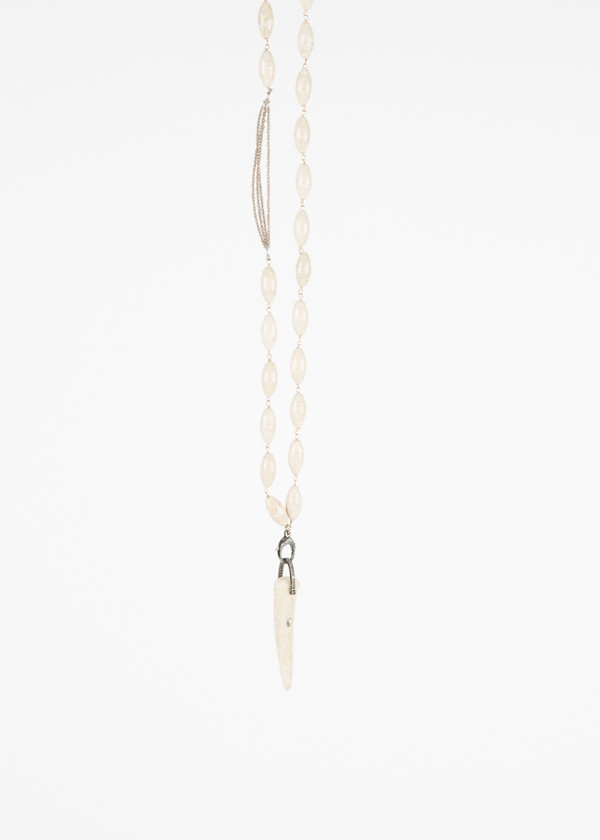 Jewels by Piper Bone Pendant Necklace