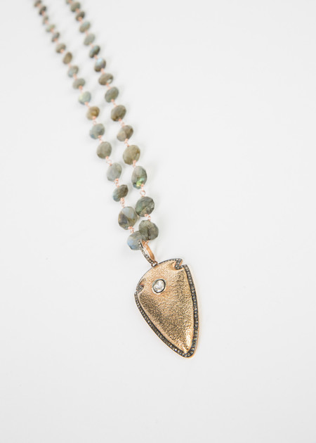 Jewels by Piper Gold Arrowhead Pendant Necklace