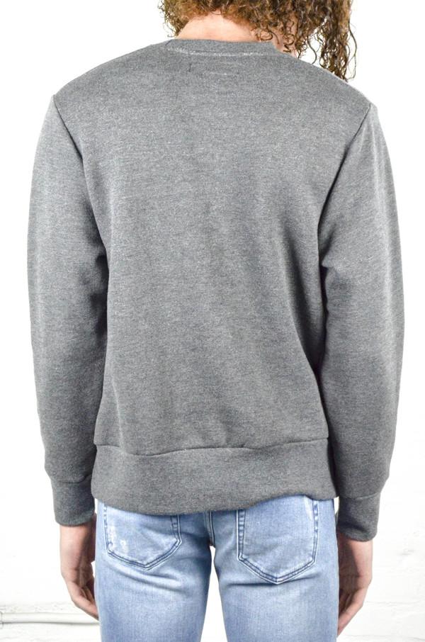 Men's 18 Waits Charcoal French Terry Crew Sweatshirt