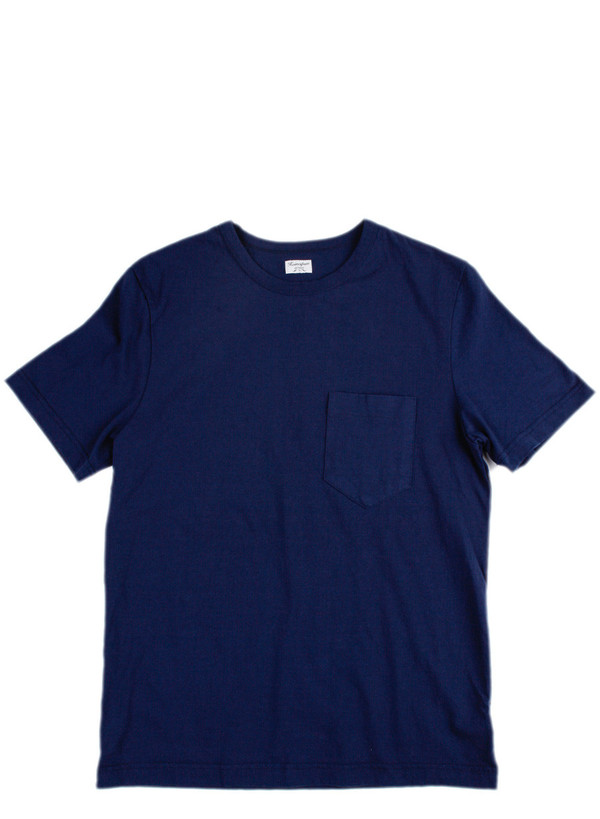 Men's Homespun Dad's Pocket Tee Indigo