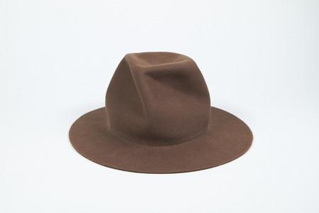 Clyde Pinwheel Hat in Field Brown