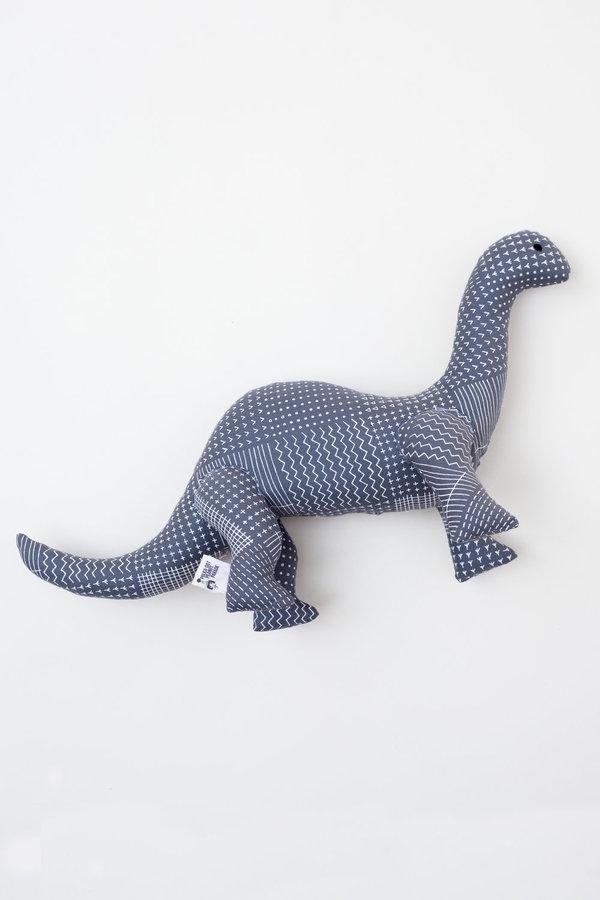 Polka-Dot Peanut Parade dinosaur soft toy