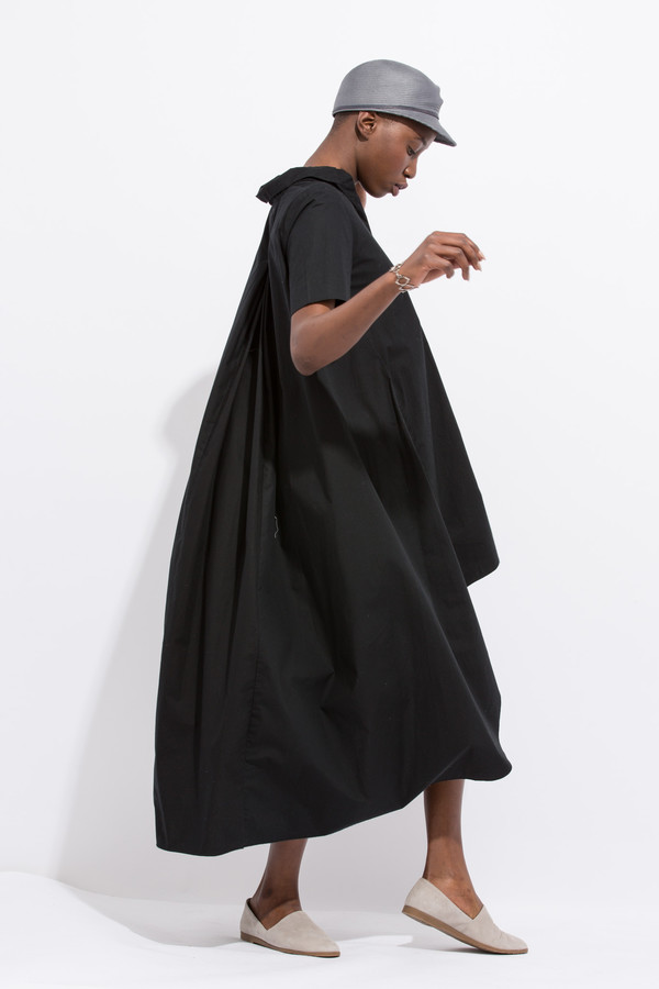 Project 6 Maaya - Hi Lo Black Dress