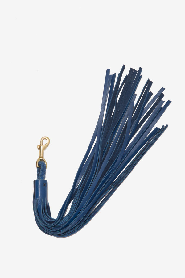 Moses Nadel Tassel Charm Blue