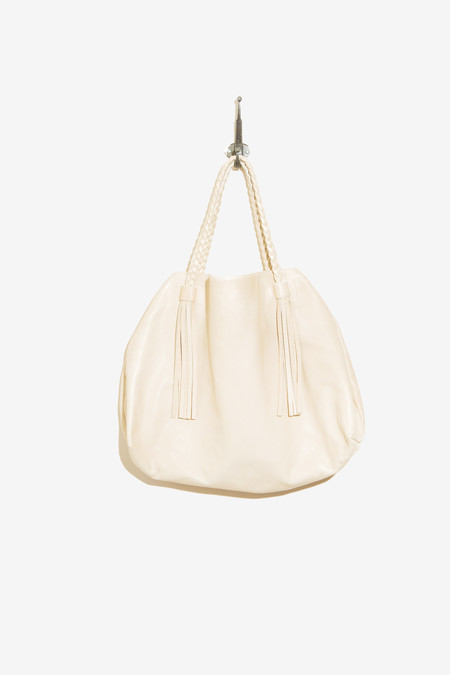 Moses Nadel Tote Bag Cream