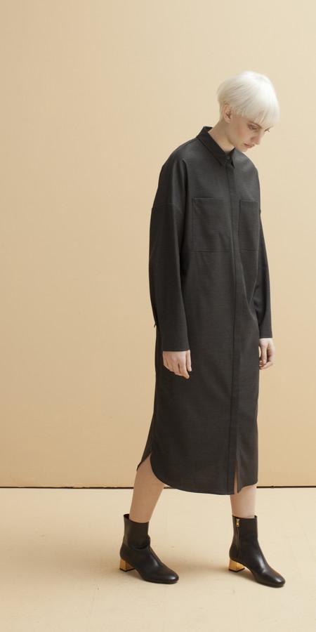 SCHAI Tower Shirt Dress