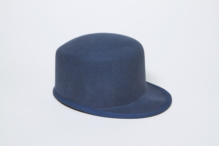 Clyde Conductor Hat in Slate