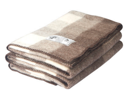 Woolrich Eco-Rich™ Suffolk Buffalo Check 100% Wool Blanket