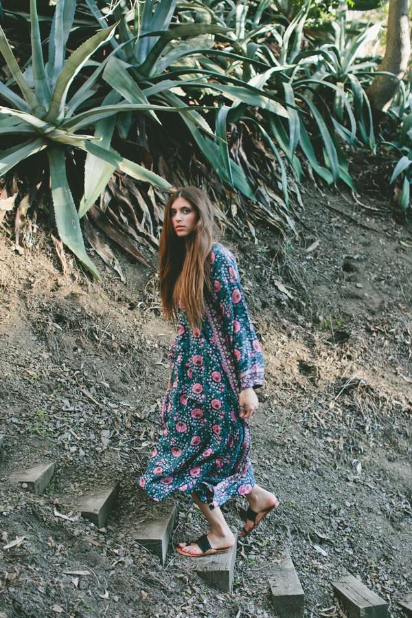 Natalie Martin Fiore Maxi Dress