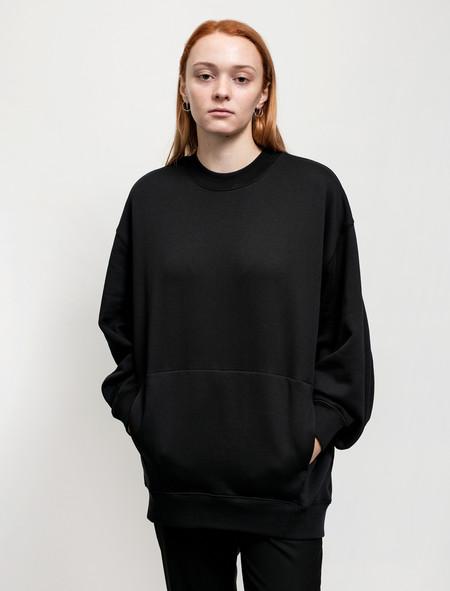 Acne Studios Womens Karvel Sweatshirt Black