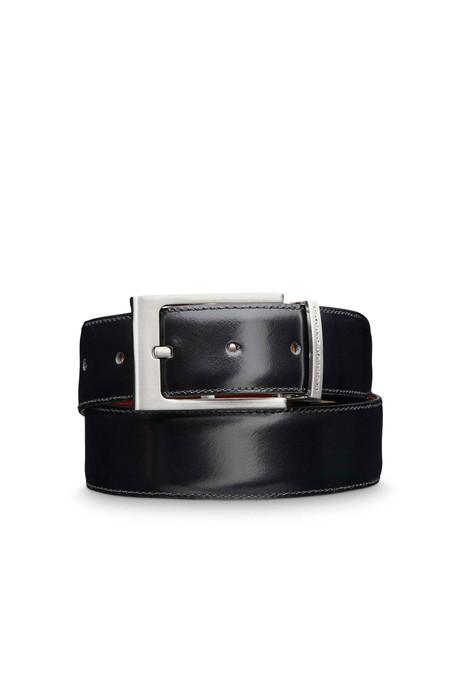 Tiger of Sweden Amigdina Leather Belt | Black