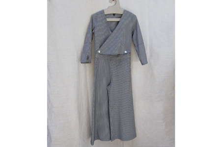pietsie Jumpsuit in Railroad Stripe
