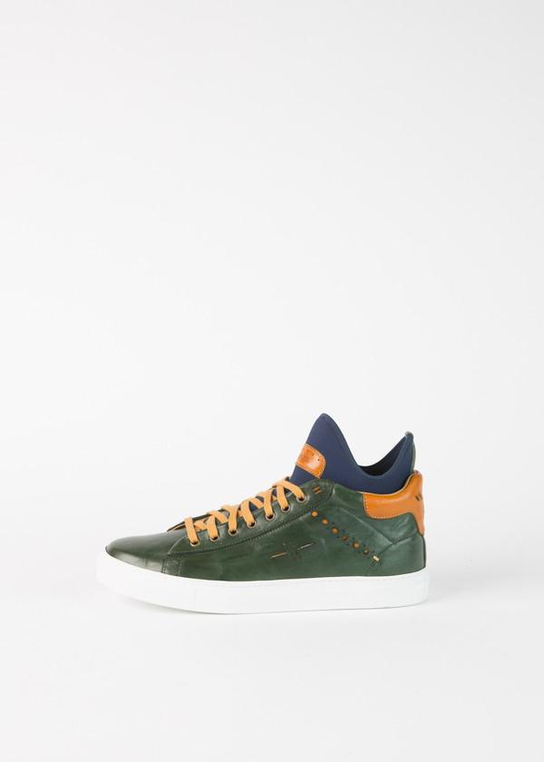 Brador Mid Top Contrast Sneaker