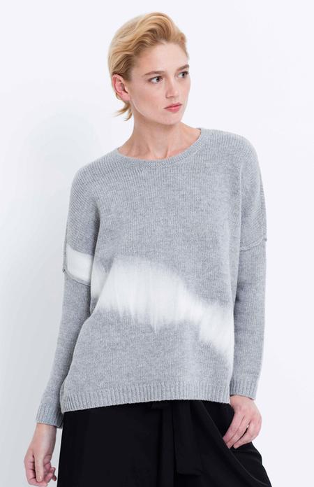 Elk Grey Felted Sweater