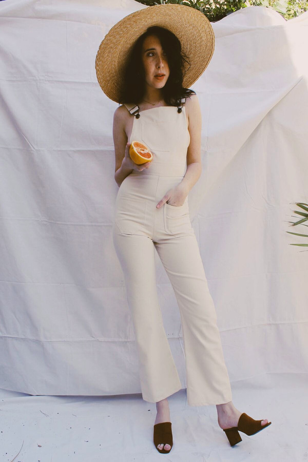 Lykke Wullf Anita Overalls Organic Canvas