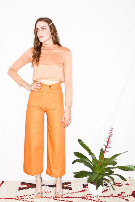 Lykke Wullf Sandy Pant Peach Canvas
