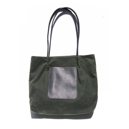 AW By Andrea Wong ON THE GO POCKET TOTE   OLIVE