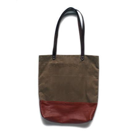 AW By Andrea Wong BAGUETTE BAG | FIELD TAN + MAHOGANY